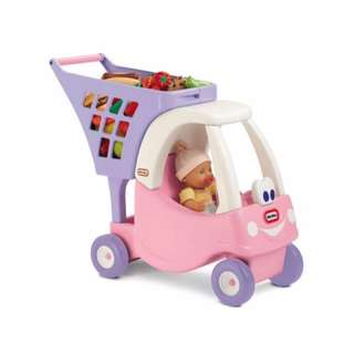 Authentic Little Tikes Cozy Coupe Cart (On hand)