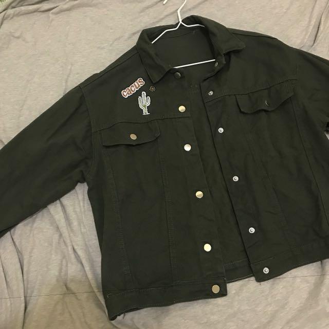 軍綠 外套