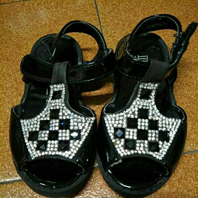 閃亮涼鞋 童鞋 23尺碼