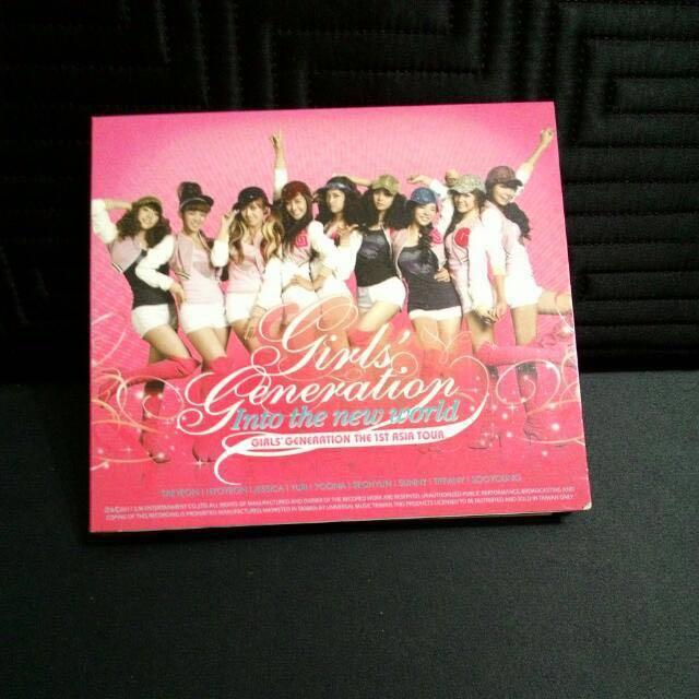 🌸 少女時代 🌸 GIRLS GENERATION 巡 迴 演 唱 會 專 輯 ✨