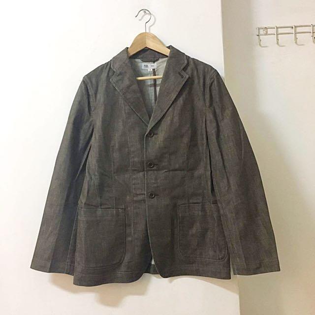 [含運] 日本製 United Arrows 咖啡工裝西裝外套 #含運最划算