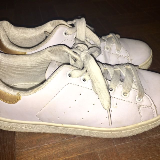 adidas stans smith gold