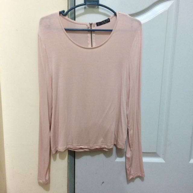 Almost New* Cotton On Millenial Pink Soft Sleeves
