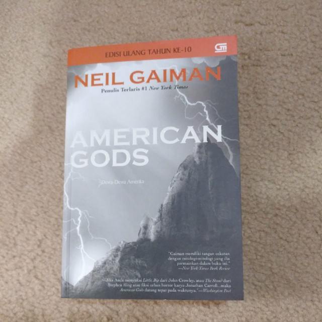 American Gods - Neil Gaiman (ID)