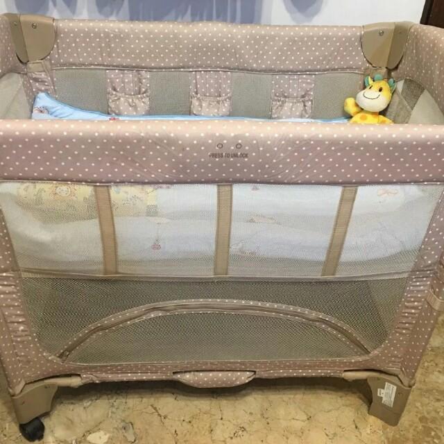 Arm S Reach Co Sleeper Baby Crib Babies Kids Cots Cribs On