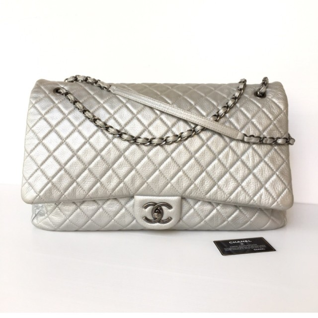 17ee7a3f817a Authentic Chanel Classic XXL Flap Bag, Luxury, Bags & Wallets on Carousell