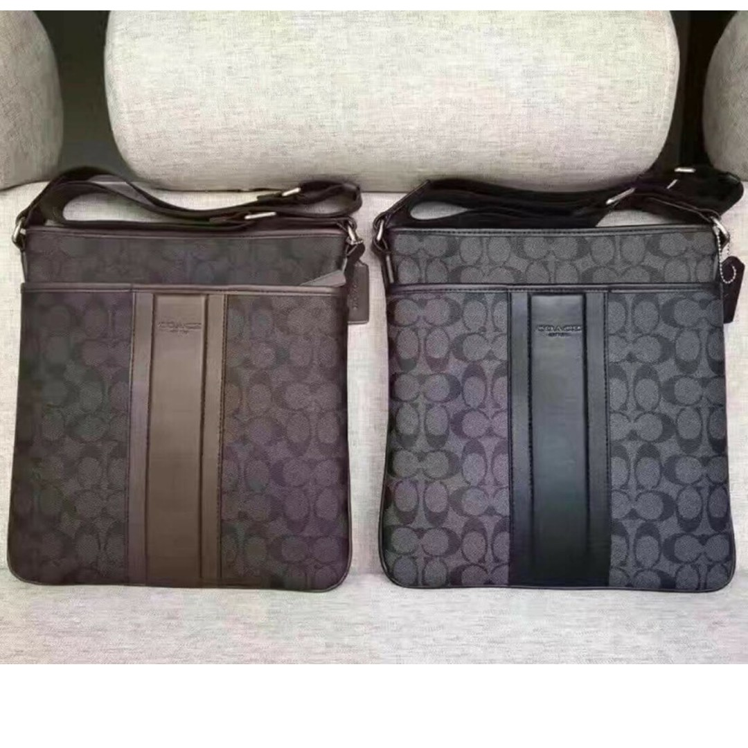 COACH SLING BAG, Men's Fashion, Bags & Wallets, Sling Bags on Carousell