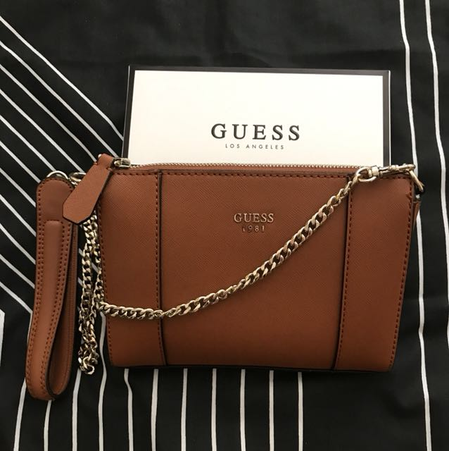 Authentic GUESS Bobbi Side Bag