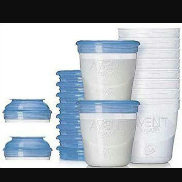 Avent Milk Storage
