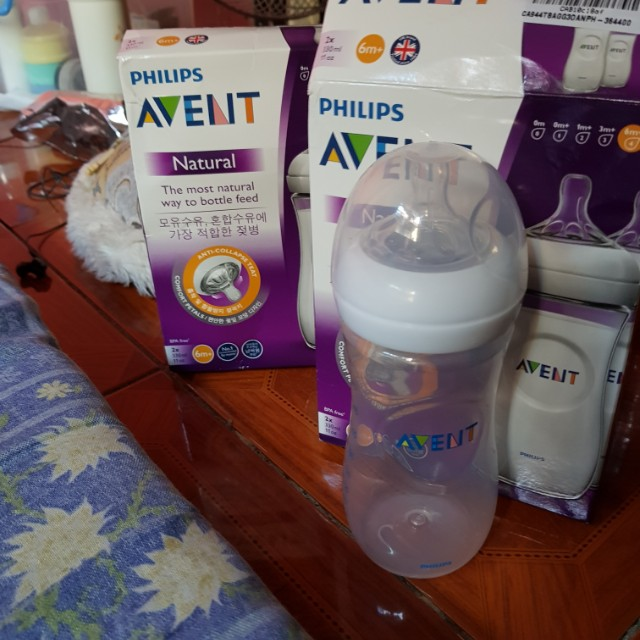 Avent Natural Feeding Bottle 11 onz.