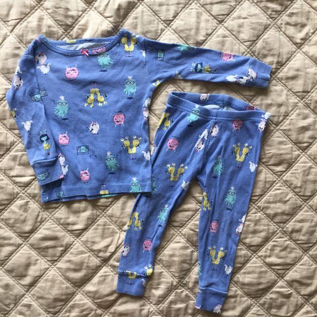 Baby Clothes  - Carters Halloween Pajama Set