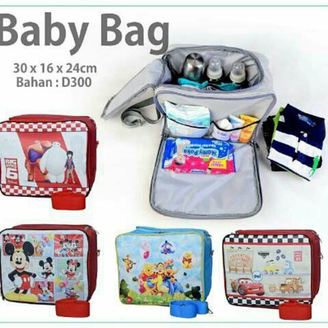 Babybag 2in1 Karakter Utk Cowok