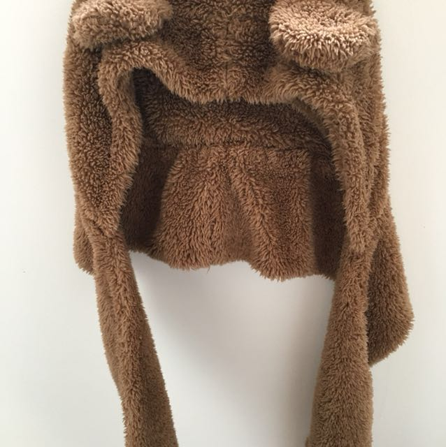 Bear ears Scarf/Hood/Gloves