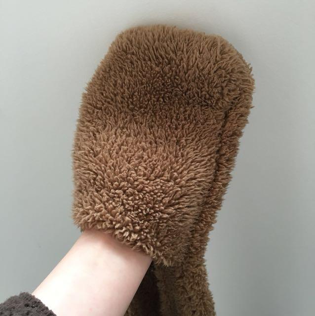 Bear ears Scarf/Hood/Gloves