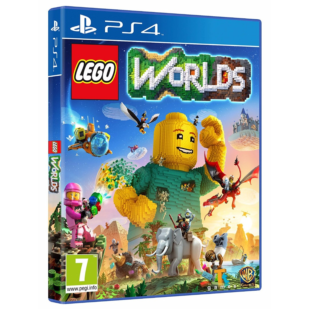 New Sony Playstation 4 Games : Brand new authentic ps sony lego worlds playstation
