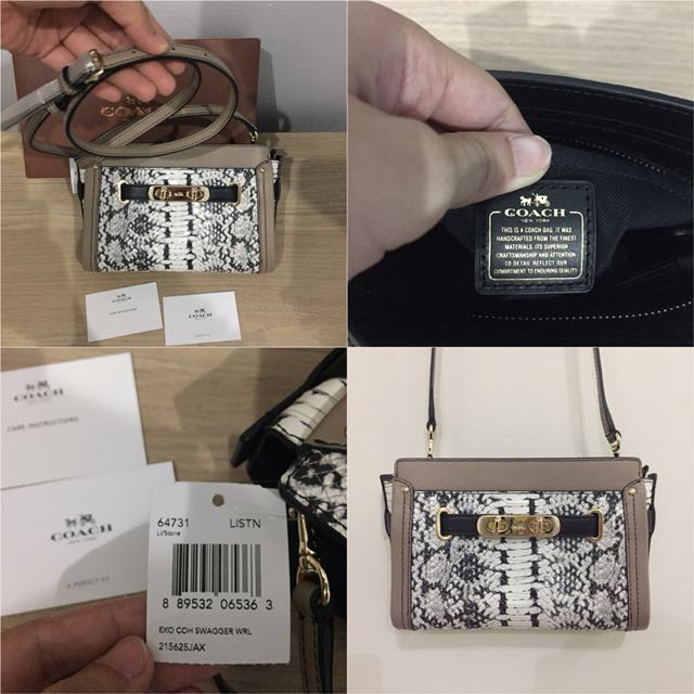 BRAND NEW WITH TAG #Coach (AUTHENTIC) - COACH SWAGGER