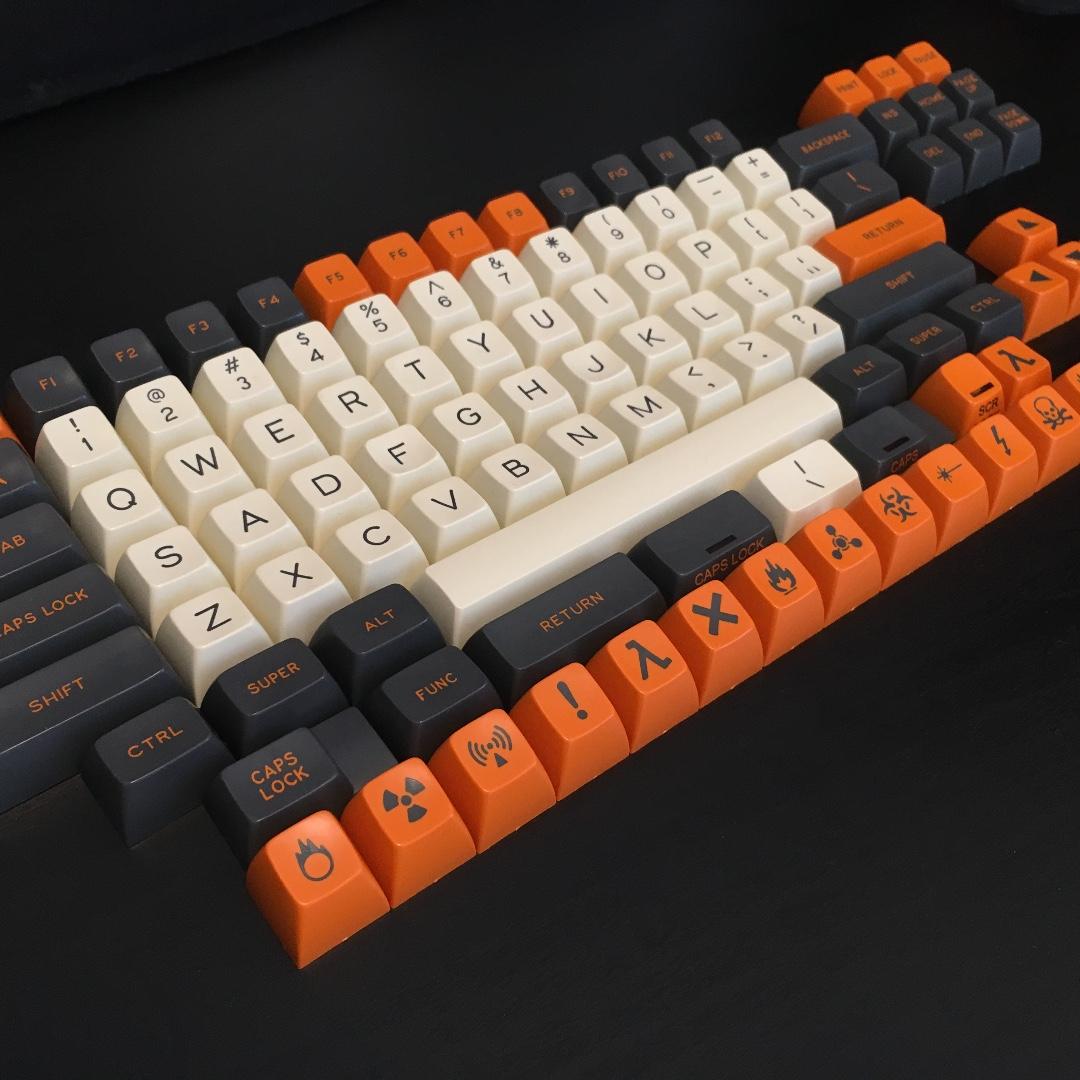 Carbon SA Keycaps