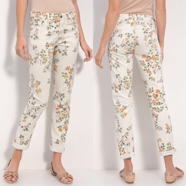 Citizens Of Humanity Mandy Flowered Jeans-size 27