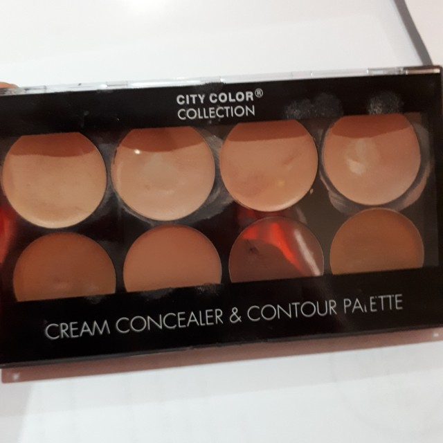 City Color Cream Concealer & Contour palette