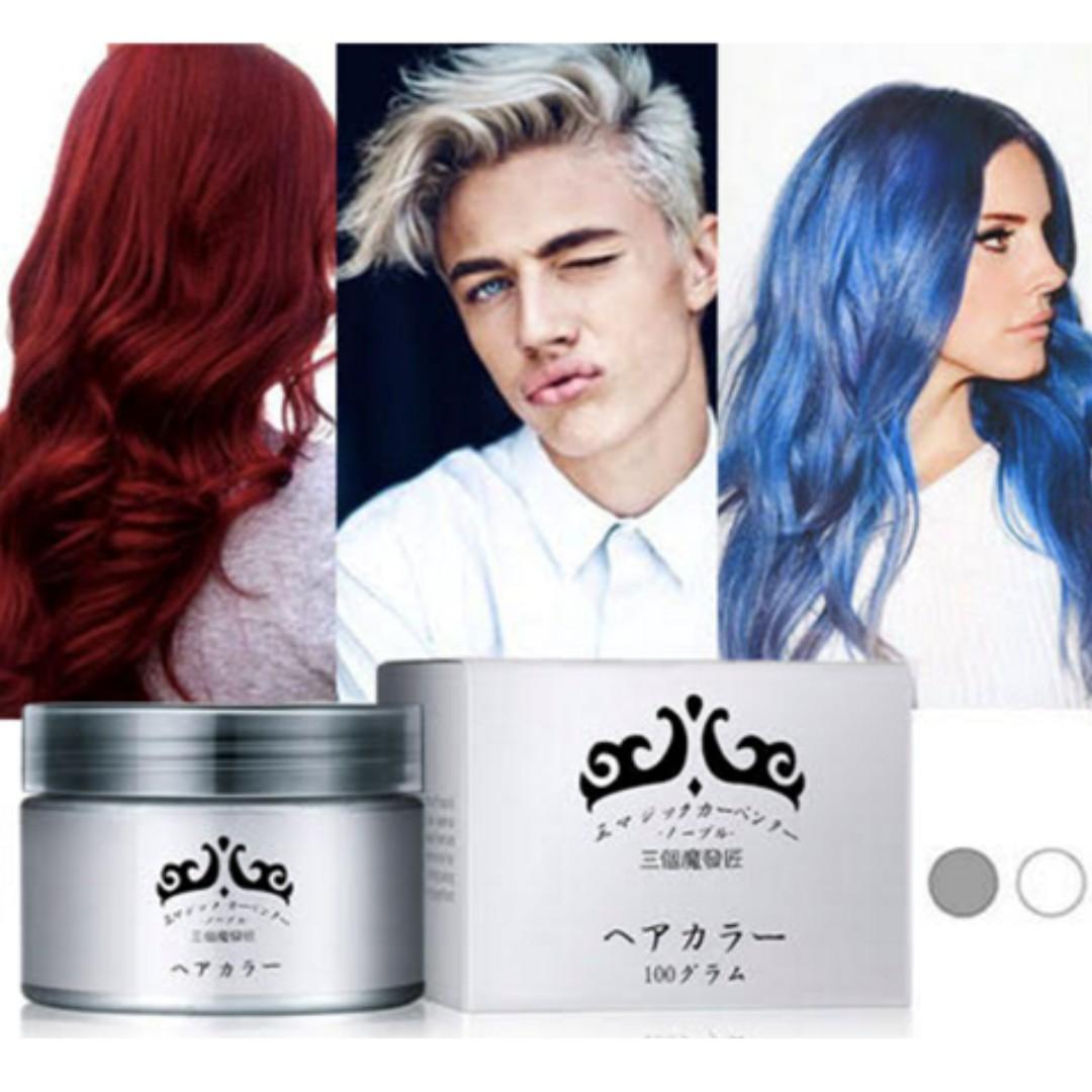Coloured Hair Wax Health Beauty Hair Care On Carousell