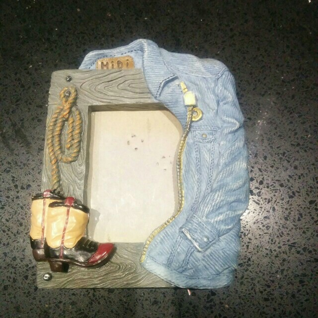 Cowgirl + Jeans picture frame