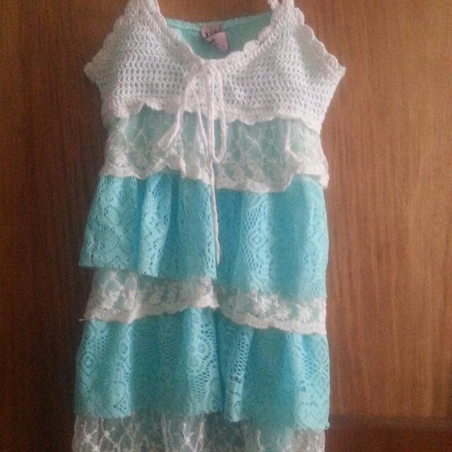 Crochet Style Lace Dress