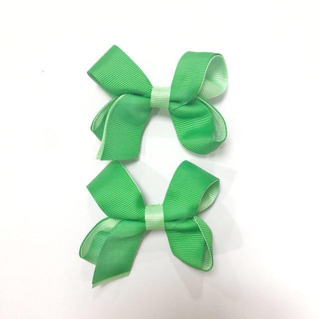 D R E W  Clips in Green