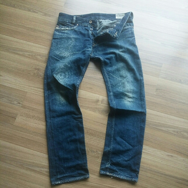9c51b531 DIESEL X ADIDAS (MADE IN ITALY)DENIM JEANS, Men's Fashion, Clothes ...