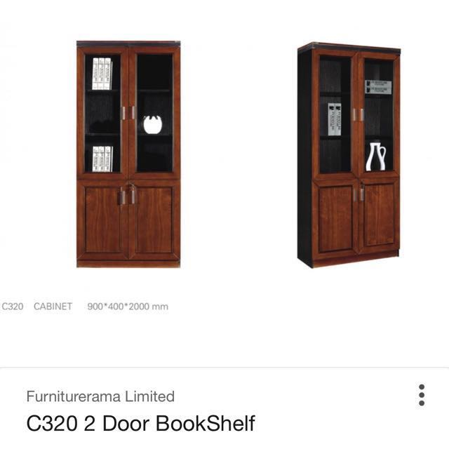 Display Book Shelf Glass Doors Furniture Shelves Drawers On