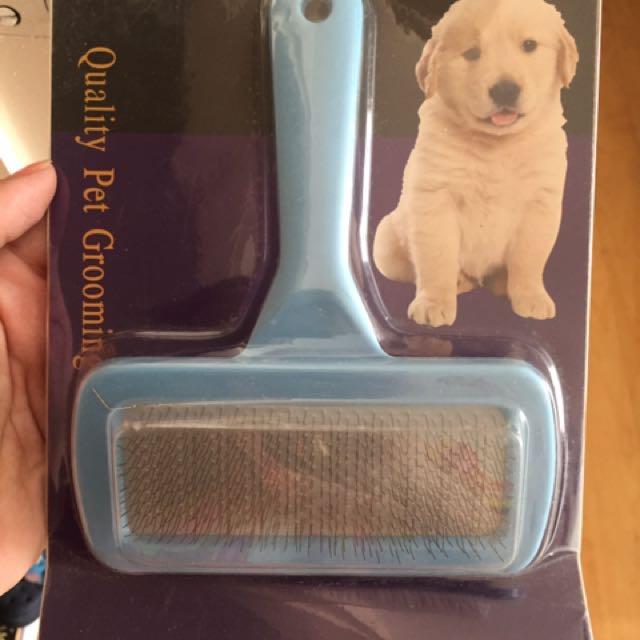 Dogs hair brush
