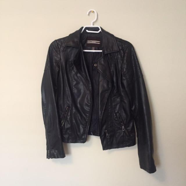 Dynamite XS Leather Jacket