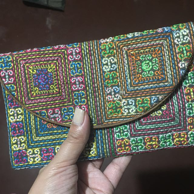 Embroidered Wallet from Vietnam