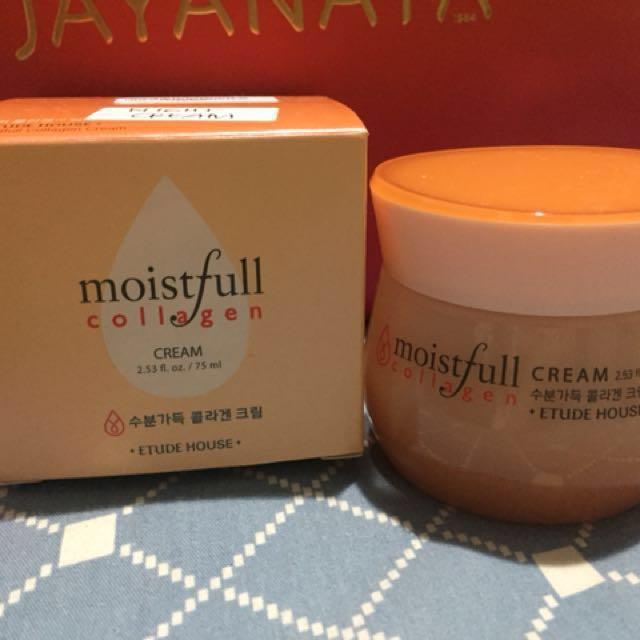 Etude Moistfull Collagen Night Cream