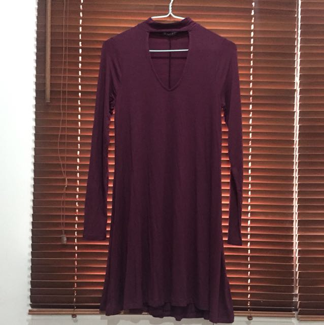Express Long Sleeved Dress