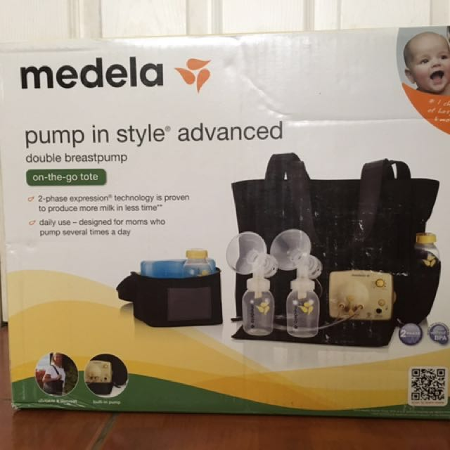 Flash sale!!! Medela Pump In Style Advance With Tote