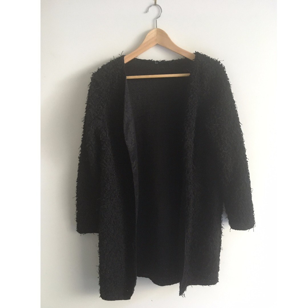 Fluffy Jumper Cardigan Sweater NEVER WORN
