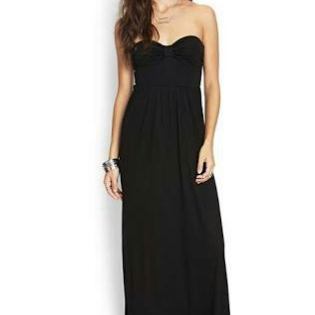Forever 21 bow maxi dress