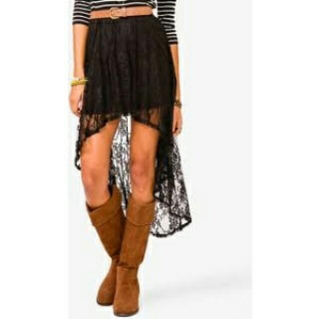 Forever 21 Hi Low skirt