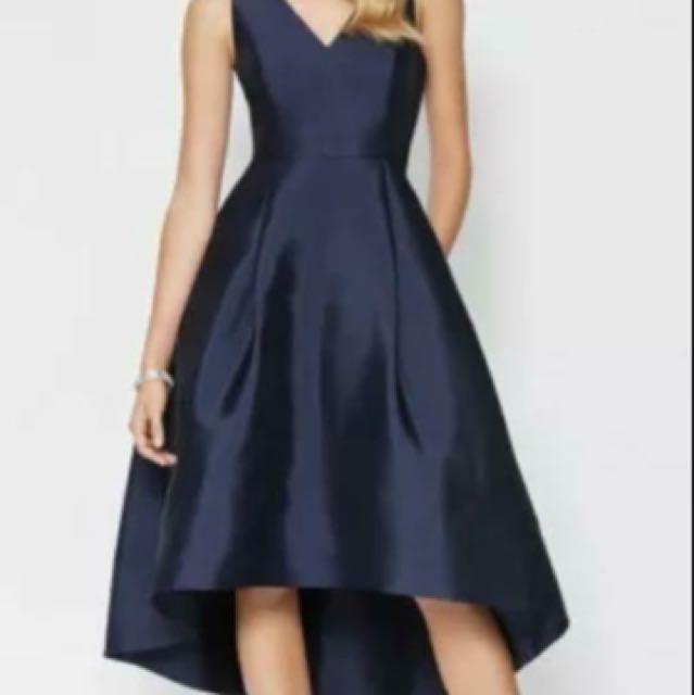 Forever new Lydia navy hi Lo dress sz 10