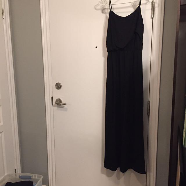 GAP maxi dress black