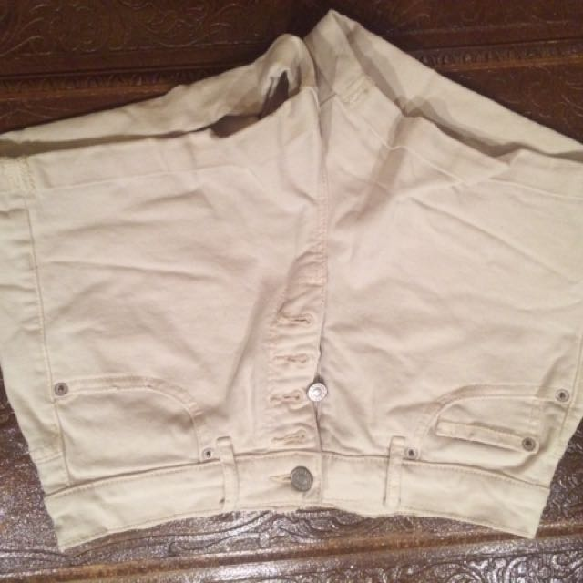 Garage Shorts With Front Buttons