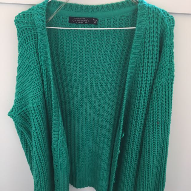 Glassons Green Cardigan