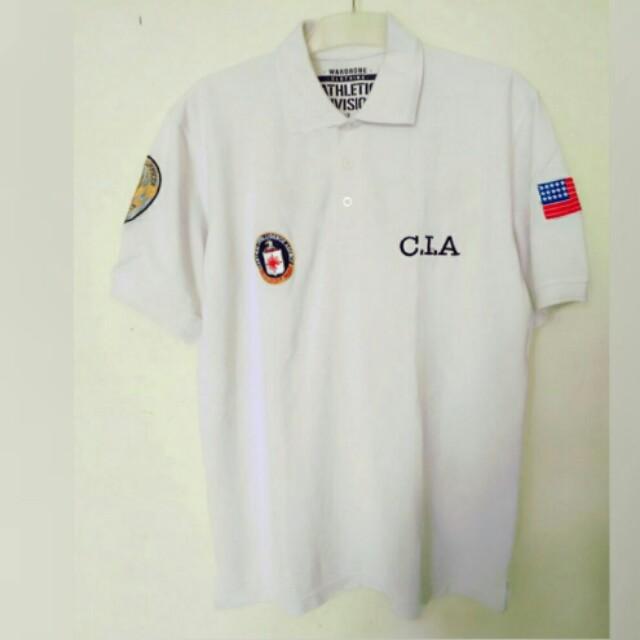 Harga boleh Murah tp kualitas gk murahan .. Polo shirt CIA size XL