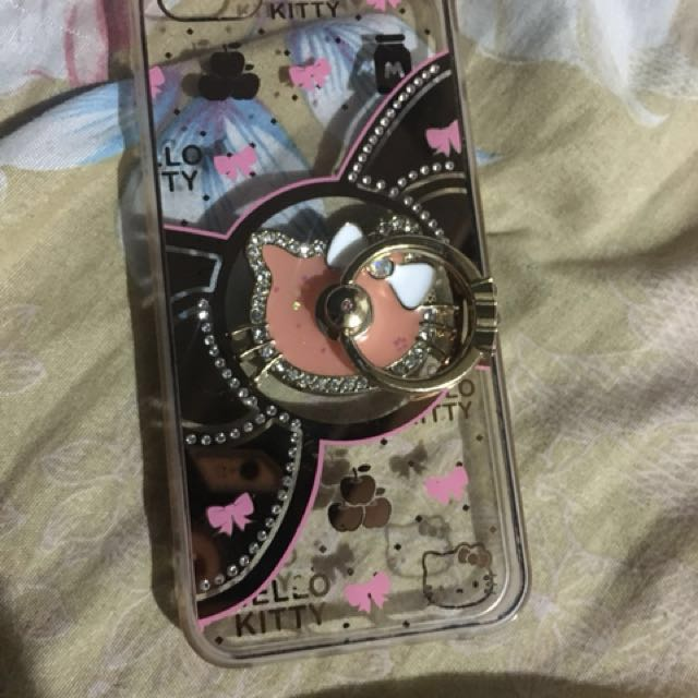 Hello kitty Case with ring