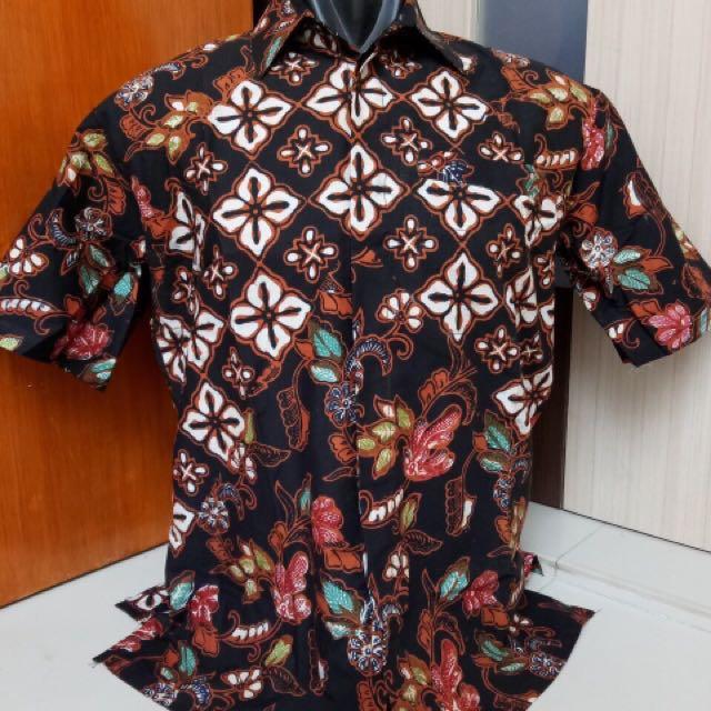 Hem Kemeja Batik Cap Limited