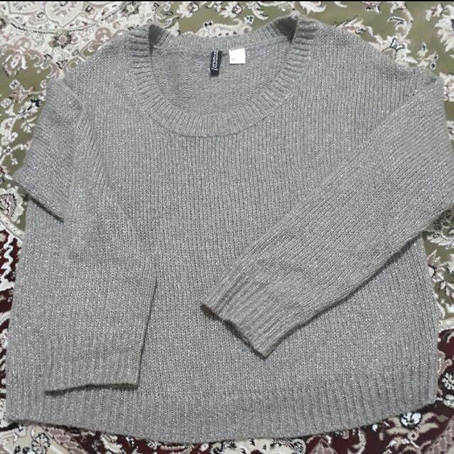 H&M Glittery Sweater/ Sweatshirt