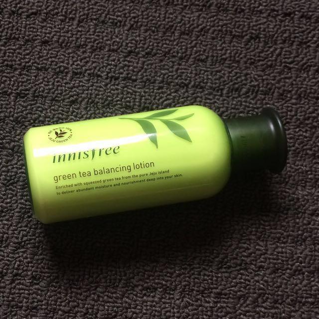 Innisfree Greentea Balancing lotion