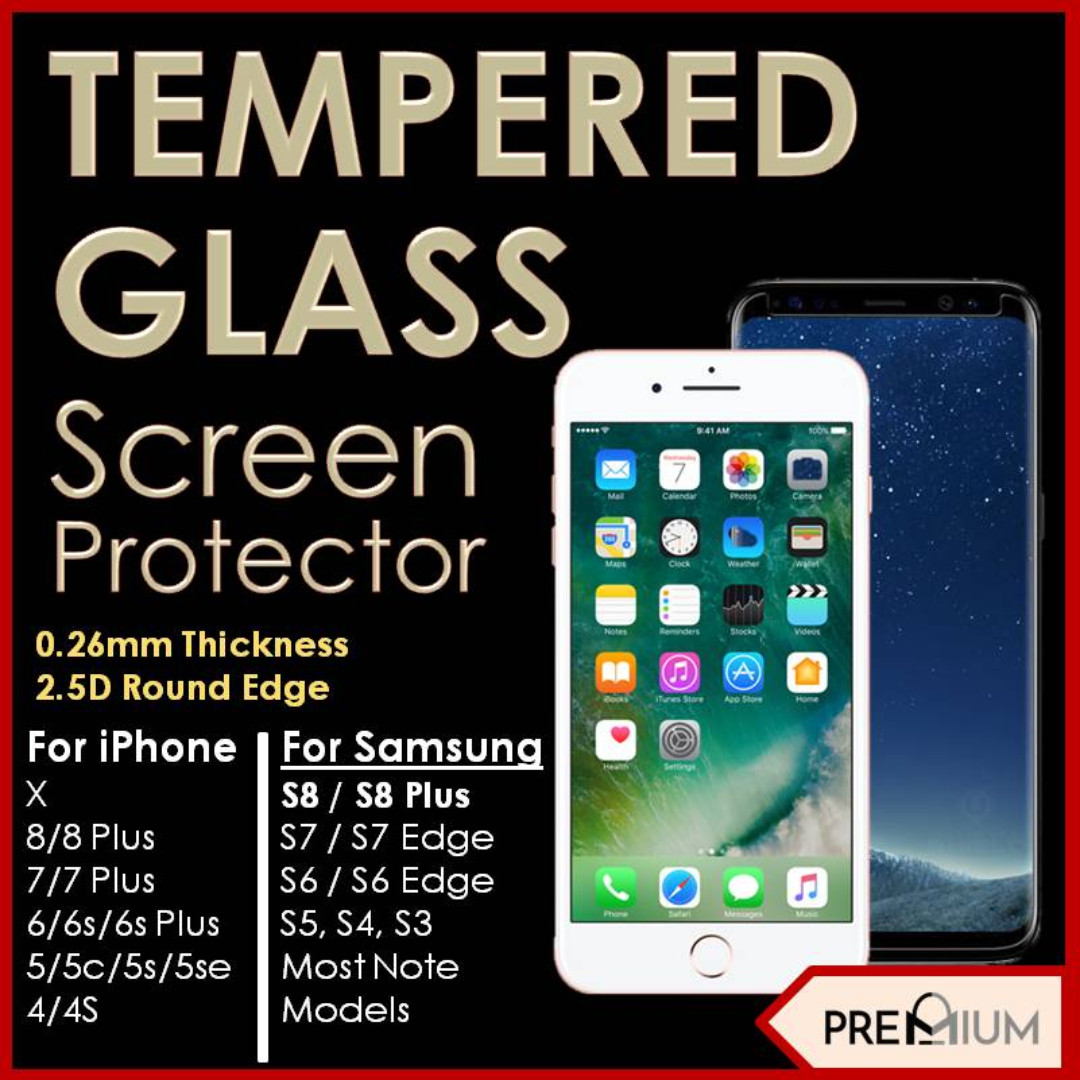 Iphone 7 Tempered Glass Mobiles Tablets Mobile Tablet 4g 4s 5 5s 5c 6 6s Plus Photo