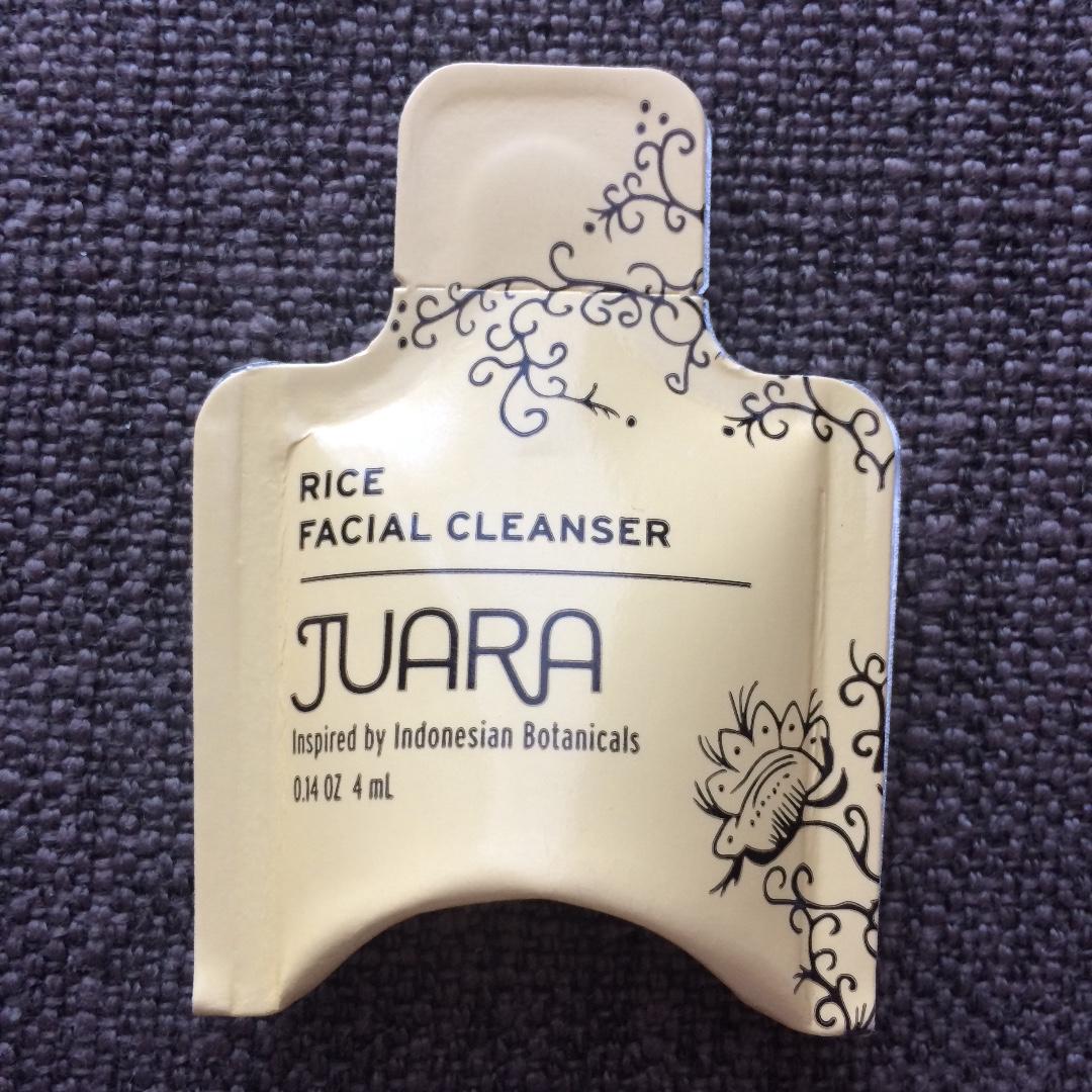 JUARA Rice Facial Cleanser sample