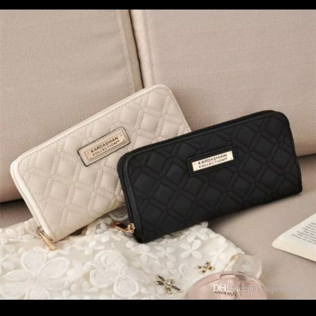 Kardashian Kollection Leather Long Wallet